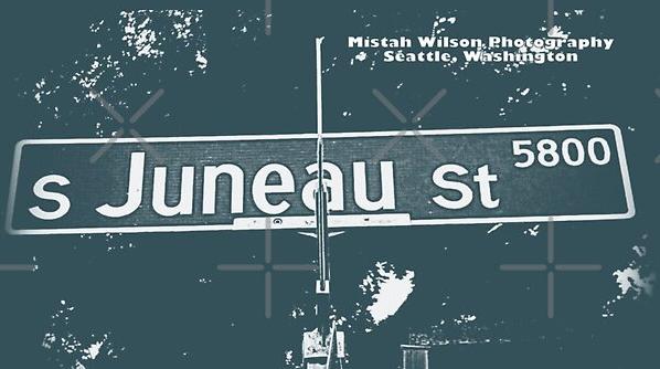 Juneau Street, Seattle, Washington by Mistah Wilson