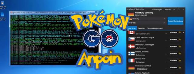 Cara Menggunakan Necrobot Terbaru Anti IP Banned (Work), Cara Menggunakan BOT Pokemon GO Anti IP Banned Work Terbaru.
