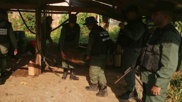Venezuela desmantela base clandestina de paramilitares colombianos