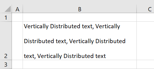 Distributed vertically