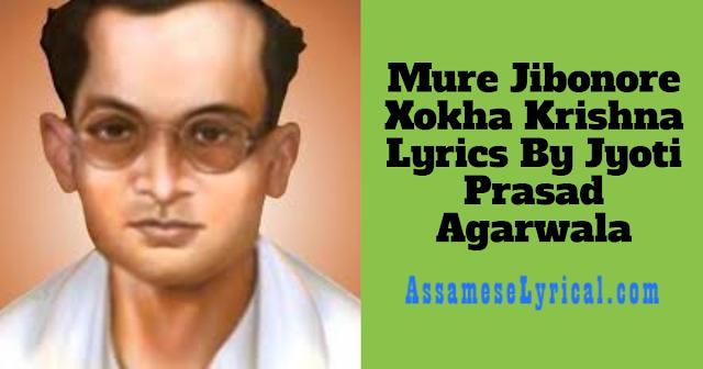 Mure Jibonore Xokha Krishna Lyrics