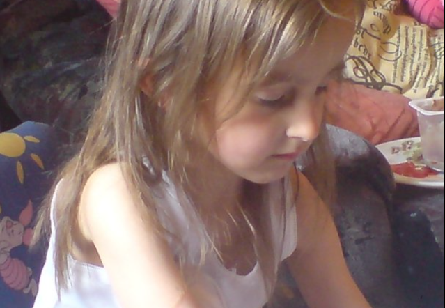 My eldest at about 4 years old