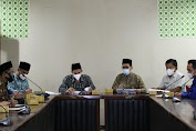 Sinergikan Program Kehumasan, KPU Datangi Diskominfosatik Kabupaten Serang
