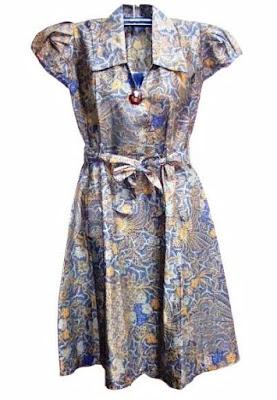 Model Gaun Batik Wanita Untuk Pesta