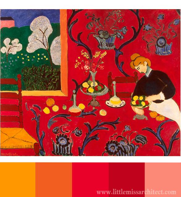 paleta kolorów w domu