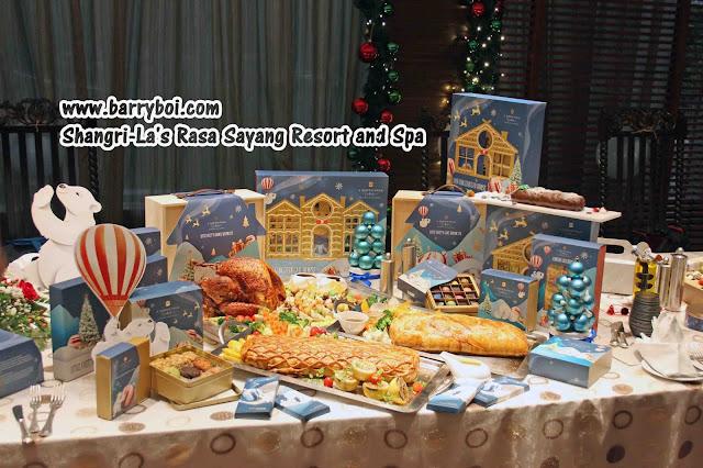 Shangri-La's Rasa Sayang Resort and Spa Christmas Feast Penang Blogger  Influencer www.barryboi.com Penang Hotel
