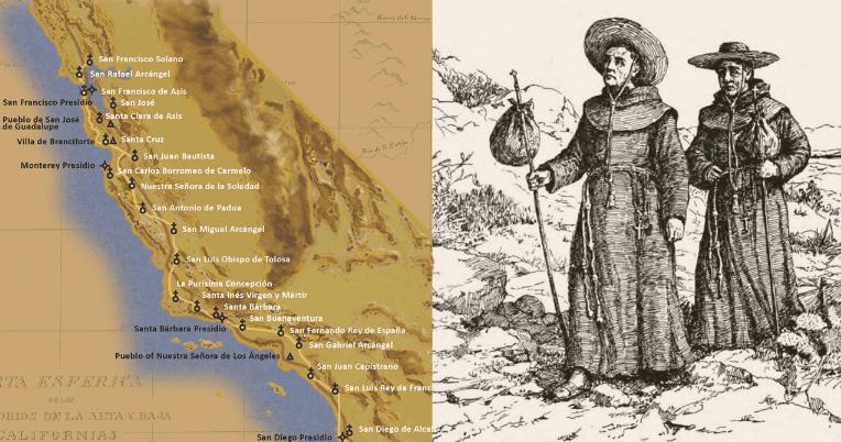 misionaris, calfornia, katolik