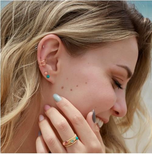 todos os tipos de piercing na orelha