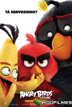Capa do Filme Angry Birds: O Filme