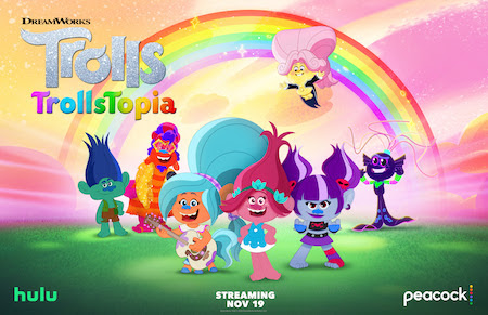 The Adorable Trolls Return With The New Hair Raising Dreamworks Trollstopia Series Mommy S Block Party