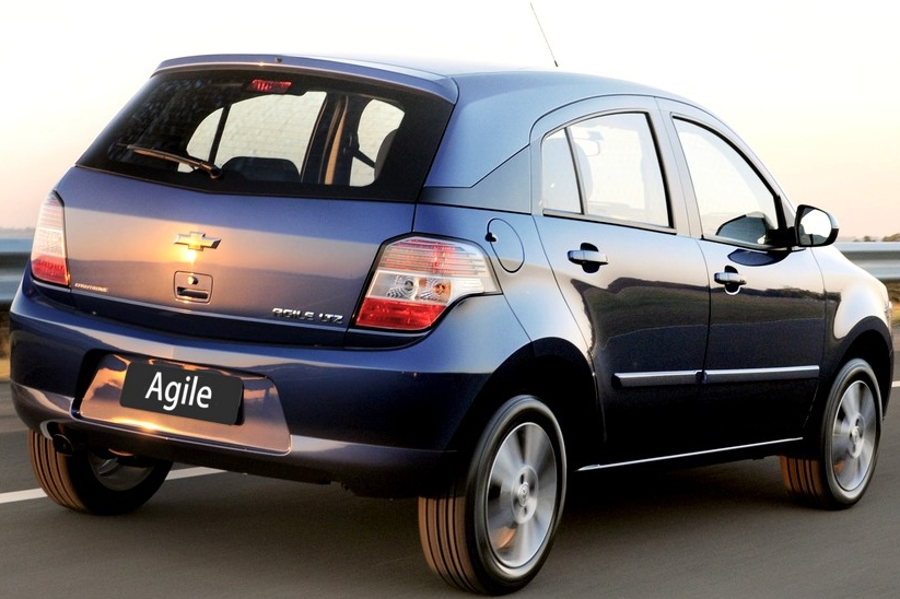 car i Chevrolet Agile 2014
