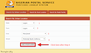 Lagos Postal code
