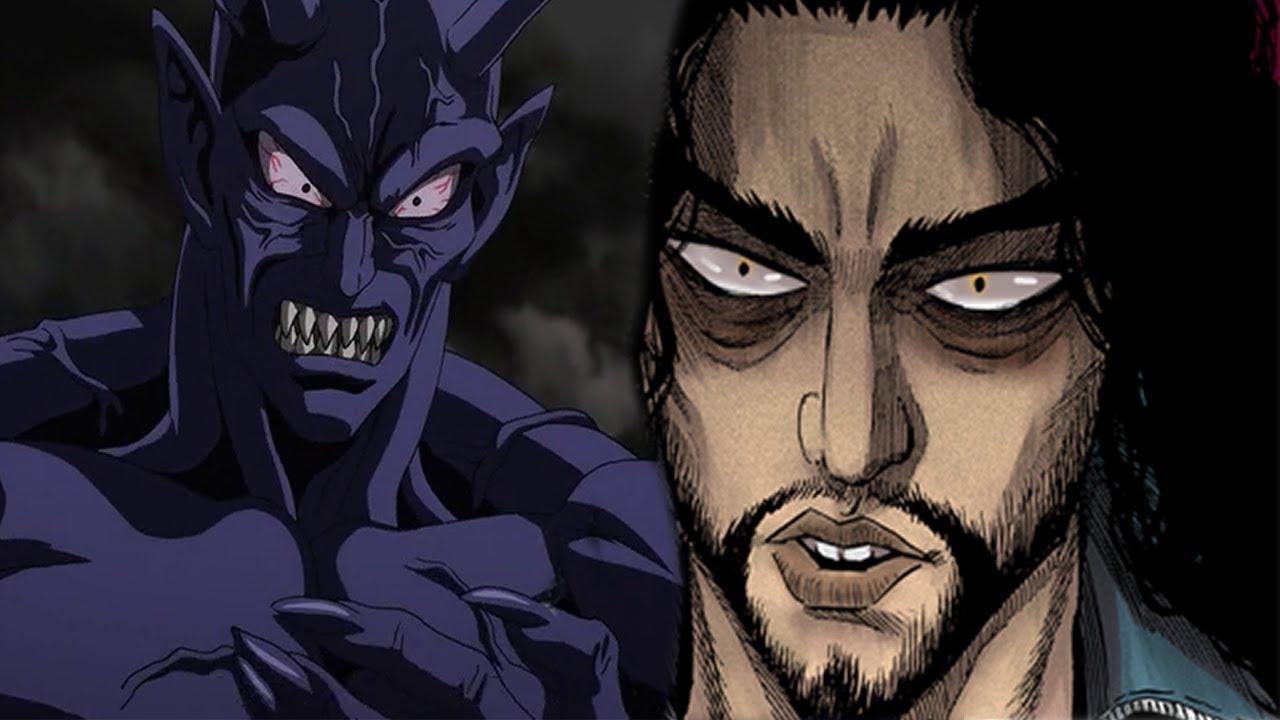Vaccine Man dan Homeless Emperor One Punch Man