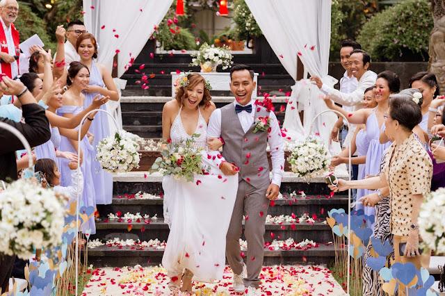 Segara Village Sanur Wedding | Sandy + Fadli