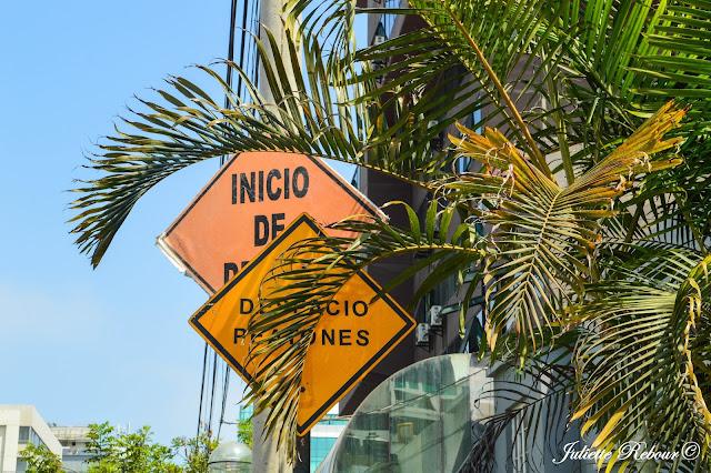 Rues au Pérou à Lima