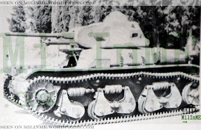 Renault R-35 rearmado con cañón británico de 2 pdr (40 mm)