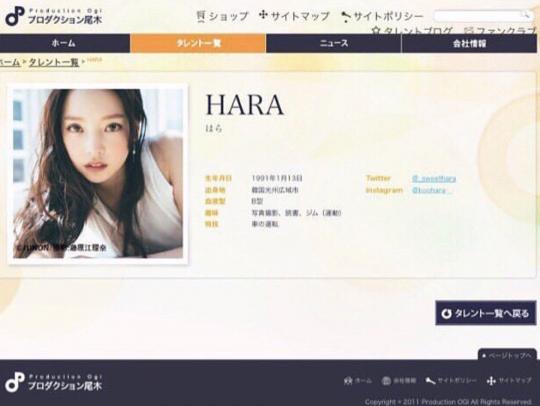 Goo Hara, Japonya'da yeni bir şirketle kontrat imzaladı