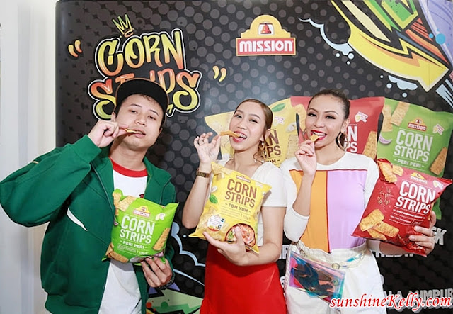 Mission Foods Corn Strips, Szechuan Spicy Seafood, Tom Yum, Peri Peri, Rip Strip Skip The Dip, Sophia Liana, De Fam, Juzzthin, Loca 8, Hunny Madu, Corn Strips, Food