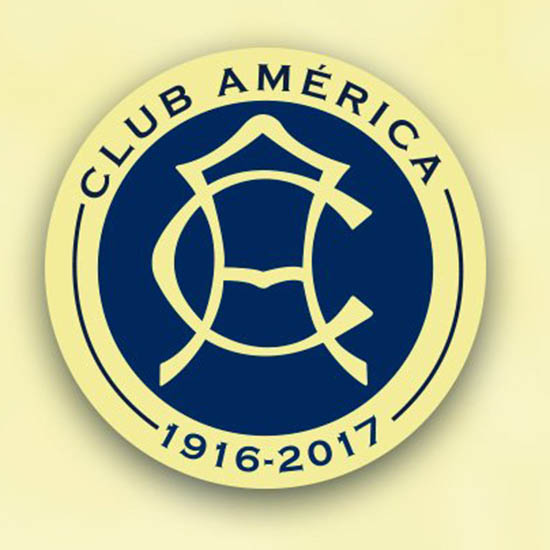 club am u00e9rica 101 years anniversary logo revealed nike club america logo dream league club america logo png