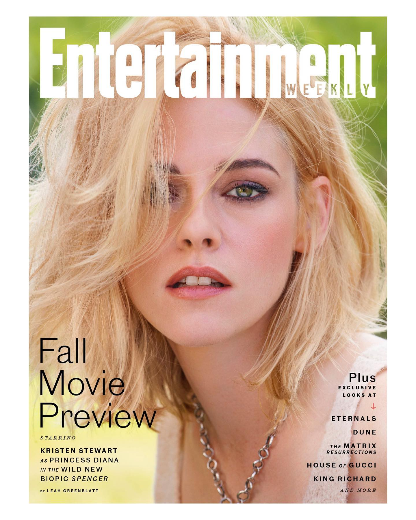 Kristen Stewart for Entertainment Weekly October 2021