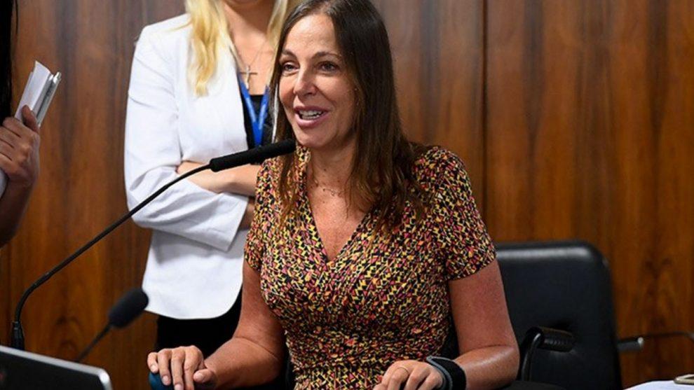 Senadora suplente Mara Gabrilli en la aprobación en comisión el miércoles / SENADO / TERÇA LIVRE