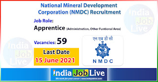 nmdc-recruitment-2021-apply-online-59-apprentice-various-vacancies-indiajoblive.com