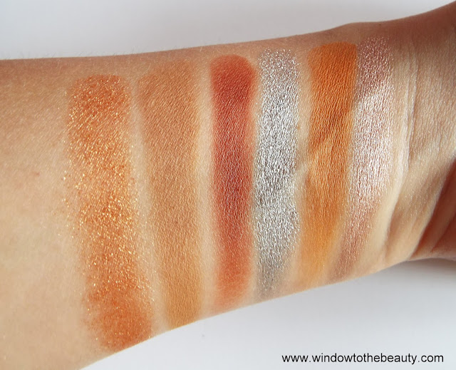 Revolution Sophx Extra Spice swatches