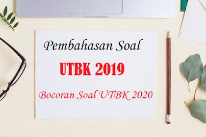 Download Soal UTBK Bahasa Indonesia 2019 dan Pembahasan