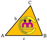 Luas Segitiga dengan Besar Dua Sudut dan Satu Sisi yang Terletak di antara Kedua Sudut Diketahui