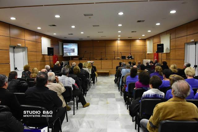 Με μεγάλο ενδιαφέρον η εκδήλωση στο Ναύπλιο για τον αντιγριπικό εμβολιασμό