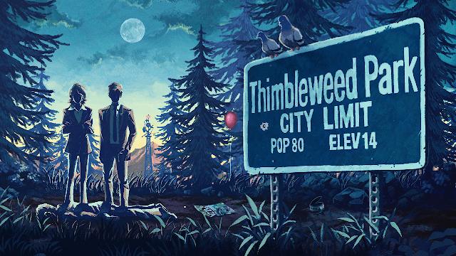 Thimbleweed Park Banner