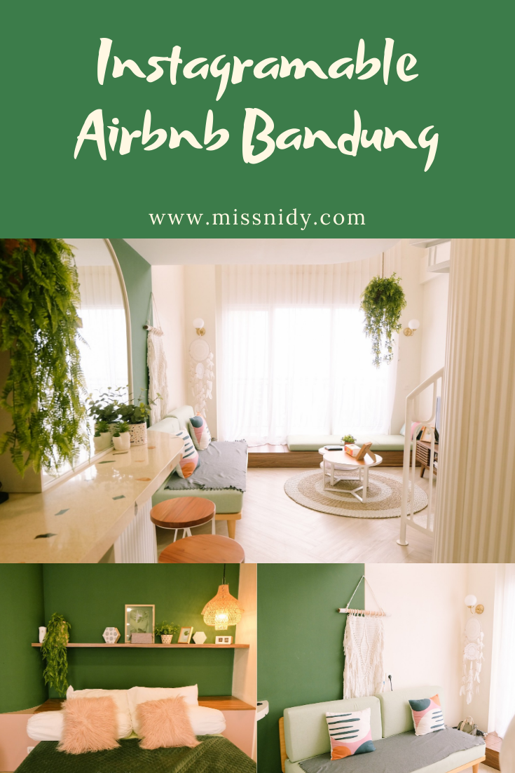 instagramable airbnb bandung