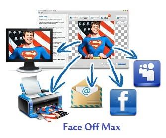 تحميل برنامج فيس اوف ماكس لتركيب الصور Face Off Max