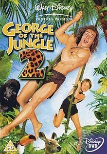 George of the Jungle 2 (2003) 480p 250MB Blu-Ray Hindi Dubbed Dual Audio [Hindi + English] MKV