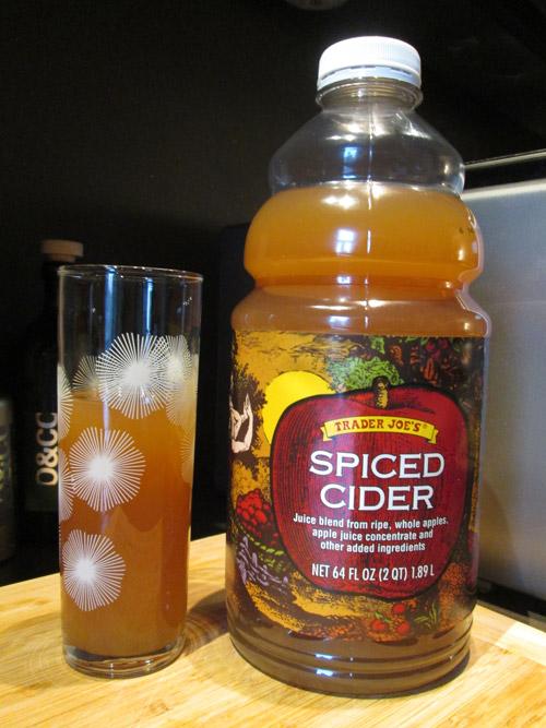Trader Joe's Spiced Cider