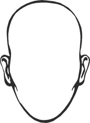 Atividades sobre corpo humano para a educa o infantil for Blank face coloring page