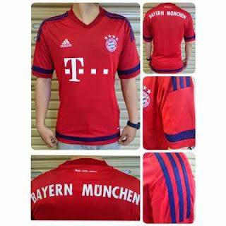 gambar photo jersey bayern munchen musim tahun depan leaked 2015/2015 dan tahun 2016/2017
