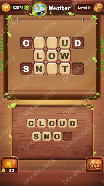 Word Bright Level 9 Answers, Cheats, Solutions, Walkthrough for android, iphone, ipad and ipod