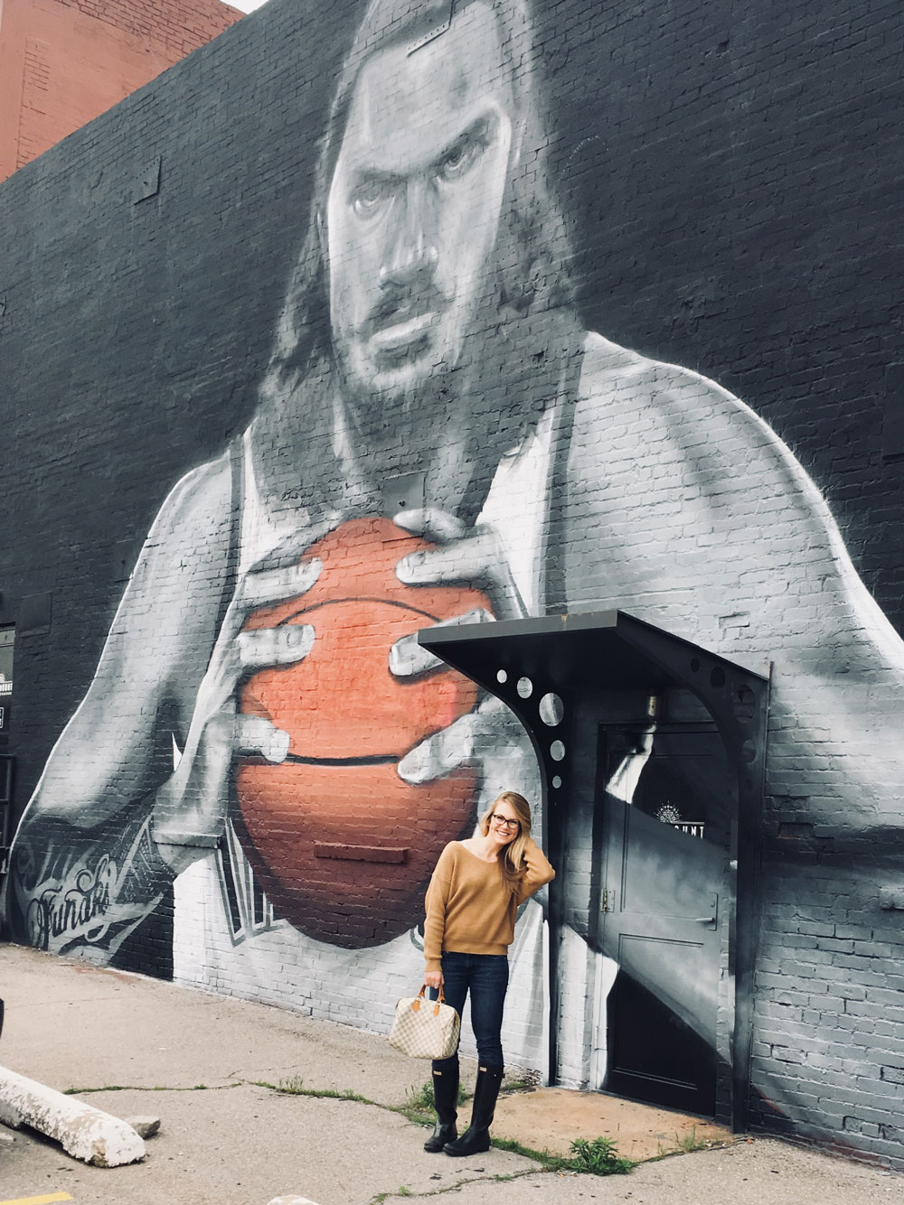 steven adams mural