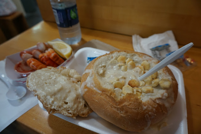 boston clam chowder quincy market