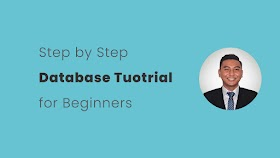 Step by Step Database Course for Beginners