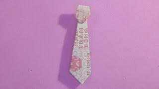 Origami money tie easy | gấp cà vạt bằng tiền giấy | 折り紙