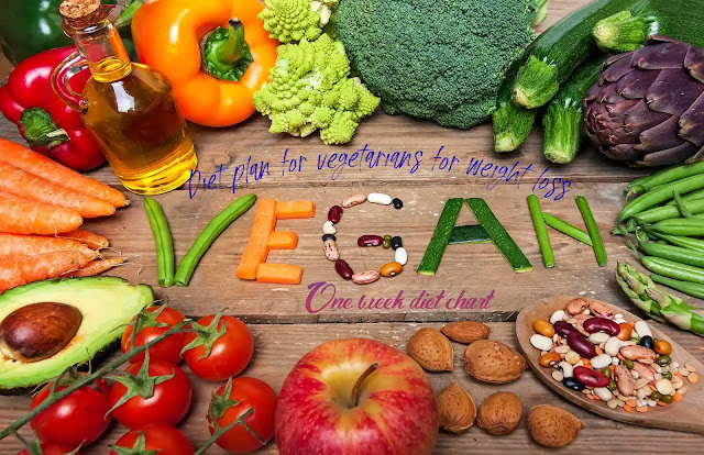 Diet plan for vegetarians for weight loss