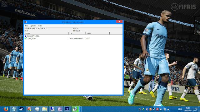 เริ่มติดตั้ง DirectX สำหรับเกมส์ FIFA 15
