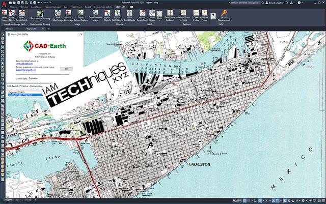 Arqcom CAD-Earth v6.1.9