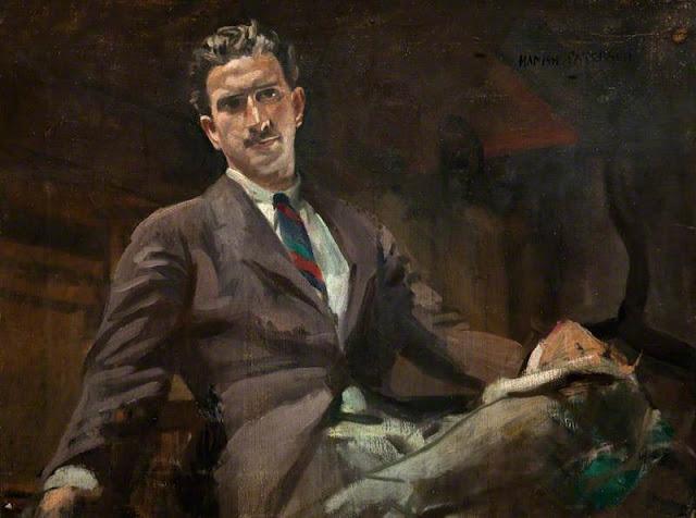 Hamish Constable Paterson, Self Portrait, Portraits of Painters, Fine arts, Constable Paterson, Painter Hamish Constable