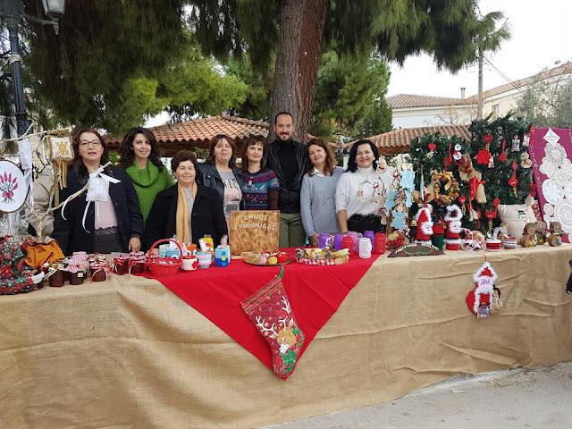 Με επιτυχία το καθιερωμένο Χριστουγεννιάτικο Bazaar στο Κρανίδι