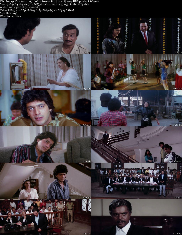Rupaye Dus Karod 1991 Hindi HDRip 720p