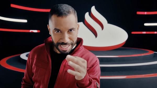 Campanha com Gil do Vigor rende 20 mil cadastros no Santander em apenas 12 horas