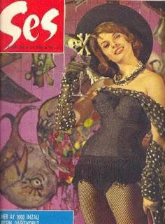 40 صورة غلاف لمجلة #Ses التركية المختصة بالجمال تعود للستينات من القرن الماضي #بنات #تاريخ